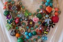 """Sieraad: zelf maken / """"jewelry"""" diy / by Nynke Stone"""