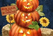 Art and illustrations Halloween / by Sandra Patterson