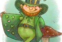 Art and illustrations St Patrick's Day / by Sandra Patterson