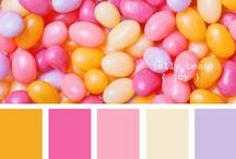 Color Inspiration  / Color Palettes to inspire afghans and decor. / by Karen Baisley