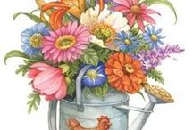 Art and illustrations flora / by Sandra Patterson