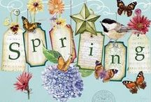 Art and illustrations spring and summer / by Sandra Patterson