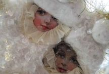 Starry White Christmas / Vintage, Romantic Nostalgic.... for sure..... Christmas  / by Vera Moore