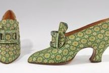 Style   Shoes / Modern and Historical shoes: high heels, boots, sandals, clogs, runners...etc.