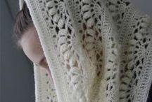 Haken: kleding / crochet: clothes / Gebreide truitjes, vestjes, sjaals en kollen / by Nynke Stone
