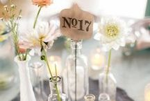Wedding Centrepieces. / Beautiful wedding centerpieces for your reception.