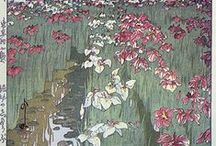 Art History   Nihonga / Japanese and Japanese-style art that I love:  Ukiyo-e, sumi-e, Moku hanga, Woodblock printing, Manga, etc.