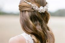 Wedding Hair - Long Styles.
