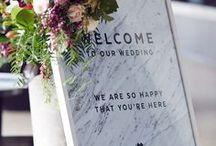 Wedding Signage.