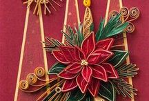 Quilling christmas / Card christmas