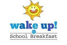 Wake up to School Breakfast! / National School Breakfast Week, March 7-11, is a week-long celebration of the school breakfast program. This year's theme is Wake Up to School Breakfast. / by Tray Talk