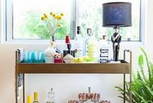 Bar Cart Chic / Style a chic bar cart with these tips  / by GABBY