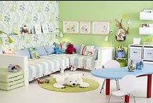 Kid Spaces & Decor Ideas / by Crissy G. - Cristin Graham