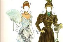 MotM Women's Costume Reference / 1880/90s women's fashion references