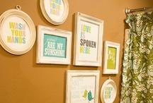 Wall Art & Photo Ideas / by Tisha K.