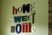 "Home Sweet Home ""Decor"" / All the pieces to make a house a home / by Natalie Grant"