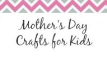 Mother's Day Crafts for Kids / Need some craft ideas for the kids for Mother's Day, find what you need here. / by Anne-TheMegalomaniacMommy