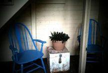 My blue chair
