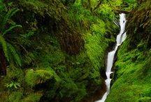 Like a WATERFALL... / Like a waterfall going down Just like a waterfall washing me down Like a waterfall going down and down and down...   - Carly Simon -