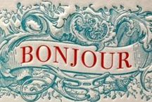 Bonjour to all my followers...