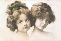 Vintage Photo & Postcards / I love viewing the past in black and white, there is a mysterious quality I find so fascinating. I am especially drawn to the early 1900's and the 1920's.  / by Patricia Joyce