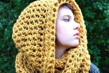 Crochet Hats & Scarves / Stay warm... hats, scarves, shrugs, gloves, earmuffs, etc. / by Carmen Eller