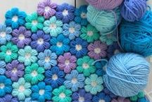 Crochet Afghans & Pillows / Afghans, Blankets, Granny Squares, & Pillows. / by Carmen Eller