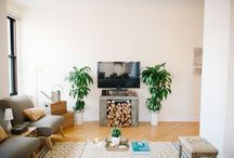 our home / our first home together, also seen on Style Me Pretty Living / by Cassandra