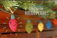 Crochet - Holidays / Crochet items that make celebrating fun! / by Carmen Eller