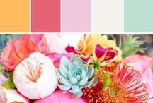 Ideas - Wedding Color Palettes ❤️ / Color theme ideas / by Donna Amerson