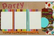 scrapbook layout kits by tami sanders * paper crafter / scrapbook layout kits for sale
