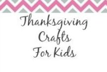Thanksgiving Crafts for Kids / Check here for some fun Thanksgiving Crafts for your kids to enjoy. / by Anne-TheMegalomaniacMommy