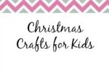 Christmas Crafts for Kids / Get your kids crafting for Christmas. / by Anne-TheMegalomaniacMommy