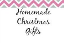 Homemade Christmas Gifts / Looking for a personal gift to give? Check out these homemade gift ideas. / by Anne-TheMegalomaniacMommy