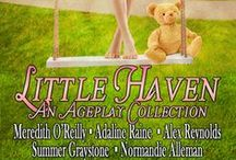 """SN ~ AP Boxed Set / This board is for pins that serve as inspiration for the authors of the """"Little Haven"""" Boxed Set about the fictional Age Play Community """"Little Haven"""" published by Stormy Night Publications."""