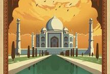 Vintage Travel Posters / travel, posters