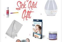 Sick Day / Although we can't totally eliminate sick days, we can make them better by being prepared with activities, products and feel-better remedies!