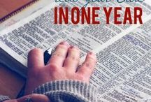 Bible Reading Plans / Plans and tips to help you read through your Bible