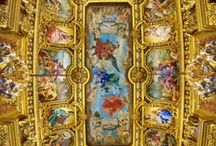 Ceiling ART of Palaces, Cathedrals,more / Please enjoy some of the world's most beautiful architecture