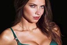 Striking Beauty: Adriana Lima