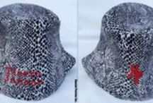 Hamlet Pericles Fashion: (Clients' Personalized Hats) / This board features personalized hats created for clients.
