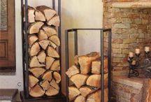 Firewood Organisation / Organisation ideas for firewood and kindling