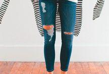 Inspiração: Destroyed jeans