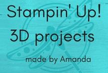 Stampin' Up! 3D projects / Stampin' Up! handmade projects everything that isn't a card........and design ideas by Amanda Fowler at www.inspiringinkin.com