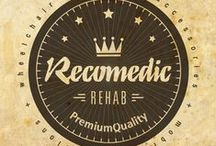 Social Media / Social media activity of Recomedic Rehab - manufacturer and supplier of components for rehab industry