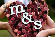 Wine & Weddings - Bodas y Vino / Ideas para bodas vinícolas. Winelovers que se dan el sí quiero brindando con vino y mucho amor <3