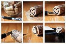 Wine Cork Crafts - Manualidades con Corchos de Vino / Wine Cork Crafts - DIY :P Manualidades con corchos de vino - ¡Hazlo tú mismo!