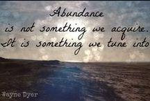 Abundance {2013 word of the year}
