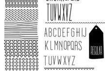 ideas: fonts