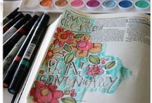 Bible Journaling & Faith Art / by Michelle Rodgers